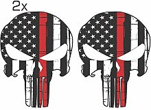Offizieller Red Line Punisher Skull 3M Orafol