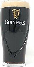 Offizielles Guinness-Glas mit geprägtem Logo,