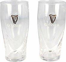 Offizielles Guinness Logo 2er Pack 1/2