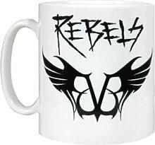 Offizielles Lizenzprodukt Black Veil Brides Rebels Logo BVB Tasse