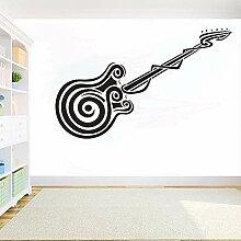 Ofomox Musikinstrumente Gitarre DIY Aufkleber