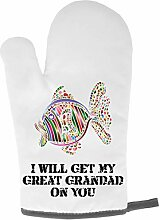 OGone3 Grillhandschuh mit Aufschrift I Will Get My