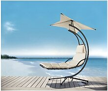 OGS39-MI Schwebeliege mit Sonnenschirm Relaxliege