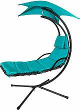 OGS39-TB Schwebeliege mit Sonnenschirm Relaxliege