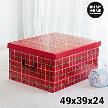 Oh My Home Bilder Aufbewahrungsbox aus Pappe mit