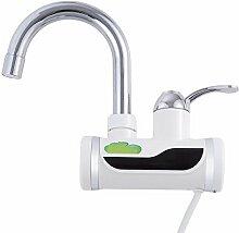 Ohcde Dheark neue Küche Badezimmer Armatur elektrischer Durchlauferhitzer Dusche Waschbecken Armaturen Warmwasserheizung mit Duschkopf für Winter, d tippen
