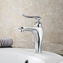 Ohcde Dheark Single Handle Faucet Kupfer Einloch Single Waschbecken Armatur Waschbecken Waschbecken Wasserhahn
