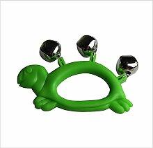 OHlive Baby Plastik Cartoon Schildkröte 3 Glocke