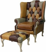 Ohrensessel Chesterfield Prince's Patchwork