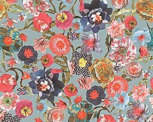 Oilily Floral Tapete–Mehrfarbig