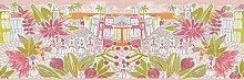 Oilily Tropical Scene Bordüre–Pink