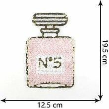 OJVVOP Handmade DIY Pailletten Bestickt Parfüm