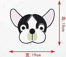 OJVVOP Kleidung Cartoon Stickerei Anime Charakter
