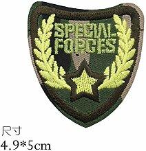 OJVVOP Militärische Tarnung Gestickte Abzeichen