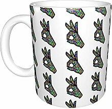 Ok Hand sign White Ceramic Mug Office Coffee Cup