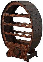 OKAFFAREFATTO MADDALONI Weinregal aus Holz Schrank