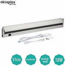 Oktaplex lighting LED Unterbauleuchte Schwenkbare