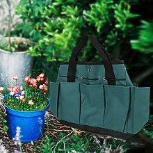 Okuyonic 49x32cm Gartenwerkzeug Tasche Werkzeuge