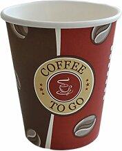 Ol-Gastro-Bedarf 1000 Pappbecher Coffee to go 0,2
