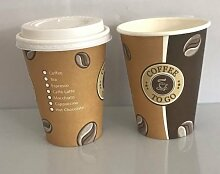 Ol-Gastro-Bedarf 300 Coffee to GO Becher + Deckel