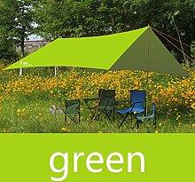 olaye Zelt Abdeckplanen, Regen Proof Strand Angeln Wandern Sonnensegel Tarp Outdoor Sonnenschutz, Park Pergola Sonnendach Zelt, grün
