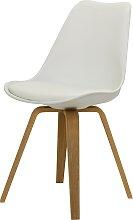 Olbia - Stuhl 2.0 Weiß/ Eiche ( 1 Stck. )