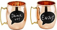 Old Dutch 488 Moscow Mule Becher, 450 ml, Kupfer