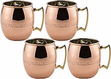 Old Dutch massivem Kupfer Moscow Mule Becher