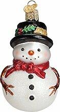 Old World Christmas Glas geblasenes Ornament mit