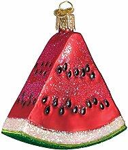 Old World Christmas Ornamente: Obstauswahl Glas