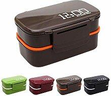 OldPAPA Bento Box 2-Schichten Brotdose für Kinder