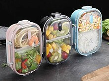 OldPAPA Brotdose,Bento Box für Kinder Rostfreier