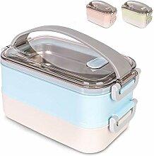 OldPAPA Kitchen Bento Lunch Box, Zwei Abteilungen