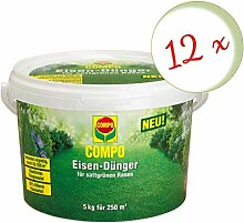 Oleanderhof® Sparset: 12 x COMPO Eisendünger, 5