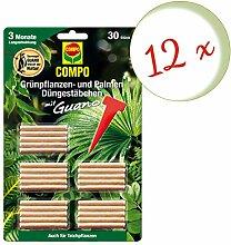 Oleanderhof® Sparset: 12 x COMPO Grünpflanzen-