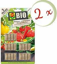 Oleanderhof® Sparset: 2 x COMPO BIO Tomaten- und