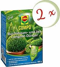 Oleanderhof® Sparset: 2 x COMPO Buchsbaum- und