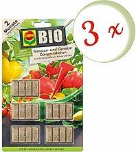 Oleanderhof® Sparset: 3 x COMPO BIO Tomaten- und