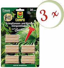 Oleanderhof® Sparset: 3 x COMPO Grünpflanzen-