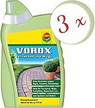Oleanderhof® Sparset: 3 x COMPO Vorox® Terrassen
