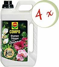 Oleanderhof® Sparset: 4 x COMPO Blumendünger mit
