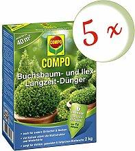 Oleanderhof® Sparset: 5 x COMPO Buchsbaum- und