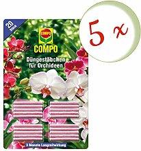 Oleanderhof® Sparset: 5 x COMPO Düngestäbchen