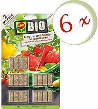 Oleanderhof® Sparset: 6 x COMPO BIO Tomaten- und