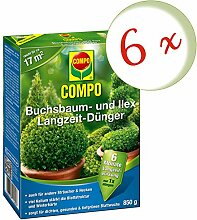 Oleanderhof® Sparset: 6 x COMPO Buchsbaum- und