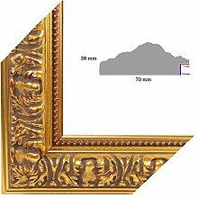 OLIMP-26 Bilderrahmen 15x15 cm Echtholz Barock in