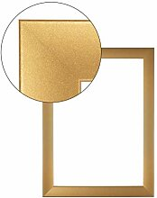 Olimp PRORSUS 35mm Bilderrahmen 100x70 cm in Gold