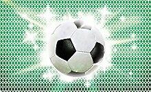 Olimpia Design 477P4 Fototapete Photomural Fussball