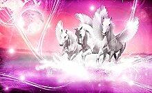 Olimpia Design 589P4 Fototapete Photomural Pferde