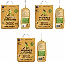 OlioBric Grill-Briketts aus Oliventrester 3X 3 kg